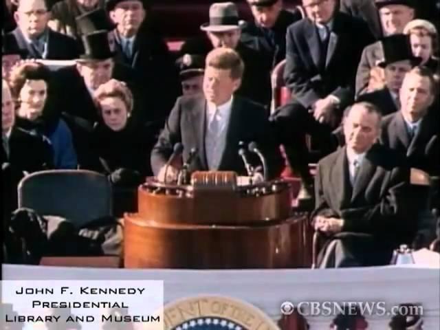 JFK's Famous Inaugural Address Passage