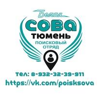 """Логотип Поисковый отряд """"Белая Сова-Тюмень"""""""