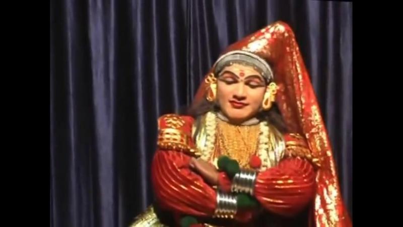 Классический индийский танец Катхакали Упражнение для глаз