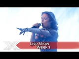 Samantha Lavery sings James Arthurs Impossible Live Shows Week 1 The X Factor UK 2016