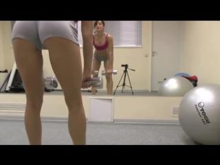 Упражнения для ягодиц:  Становая тяга