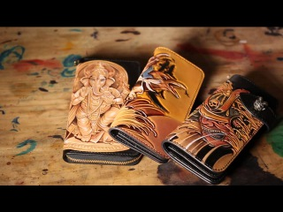 Ge Ye Studio   The Beauty of Leather Craft