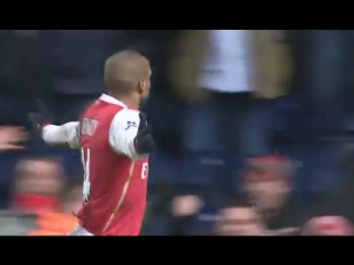 Thierry henry (arsenal) perfect goal