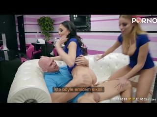 Reis Kuafördeki Çalışanları Sikiyor Türkçe Altyazılı Porno
