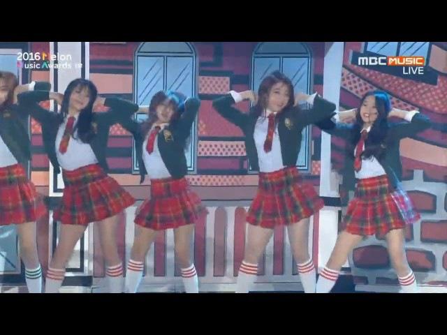 (HD)161119 (I.O.I) 아이오아이-너무너무너무드림걸즈(Dream Girls) 2016 멜론뮤직어워드 (Melon Music Awards)