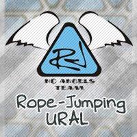 Логотип No Angels Team/ Прыжки с веревкой на Урале