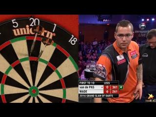Benito van de Pas vs James Wade (Grand Slam of Darts 2016 / Round 2)