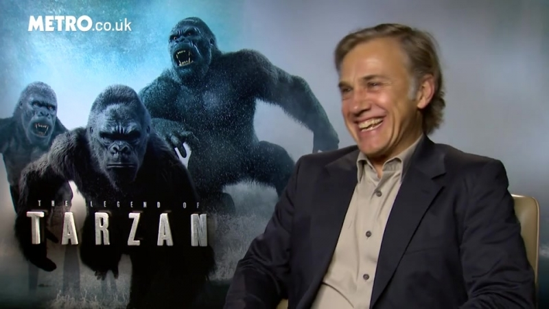 Christoph Waltz says it is too late to worry about being typecast