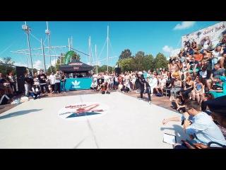 Rochka (Winner) vs Andy | A Group 1/4 Final | Ghetto Dance Ventspils 2016