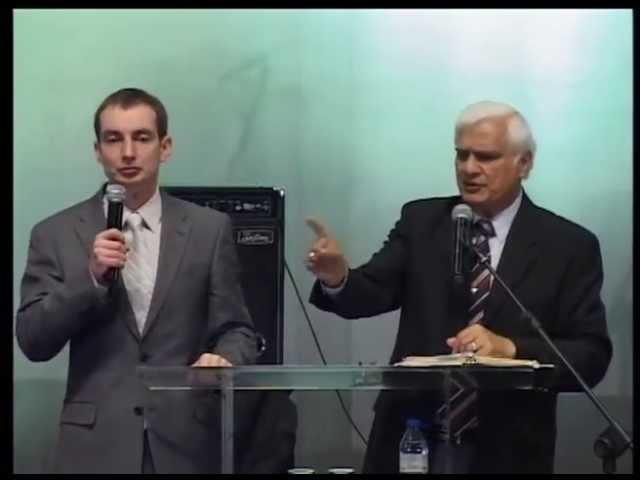 Рави Захариас: Этос, логос и пафос проповеди. 7.05.2013 Вечернее служение