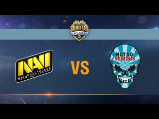 Natus Vincere G2A vs Not So Serious - day 1 week 1 Season II Gold Series WGL RU 2016/17