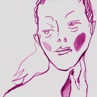 Логотип Кружок экстремального рисунка обнажённой натуры