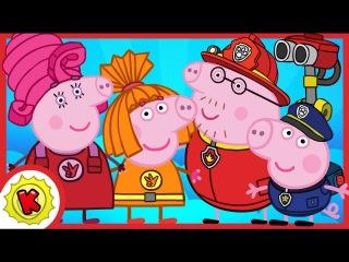 Киндер Сюрприз. Все серии. Свинка Пеппа - Щенячий Патруль, Фиксики, Бен и Холли, По...