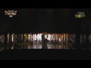 PERF 161229 BTS - Blood Sweat & Tears + FIRE @ KBS Gayo Daechukjae