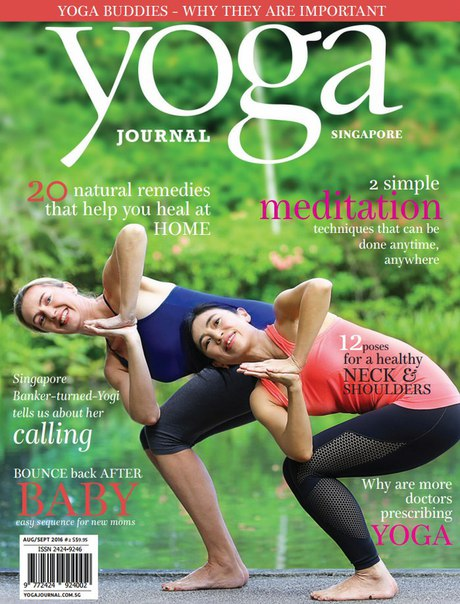 Yoga Journal Singapore – August – September 2016 vk.com