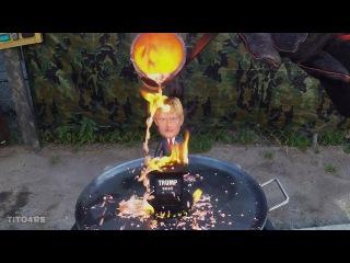 Molten Copper vs 2016 Donald Trump Bobblehead