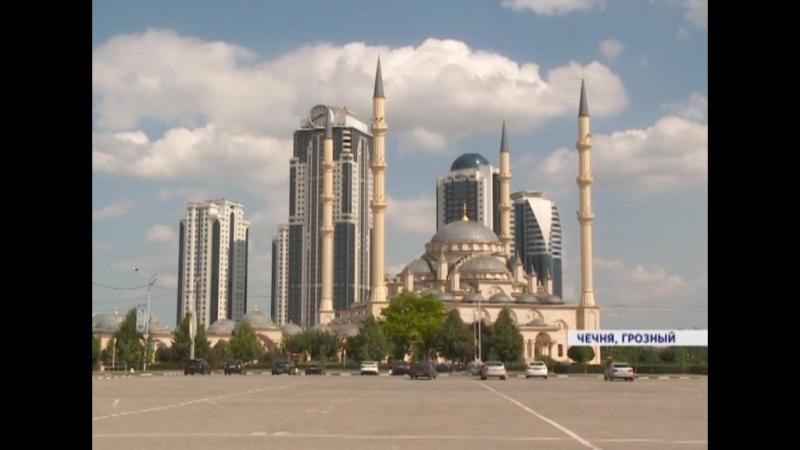 Автокрасноярцы в Чечне