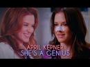 April Kepner She's a Genius