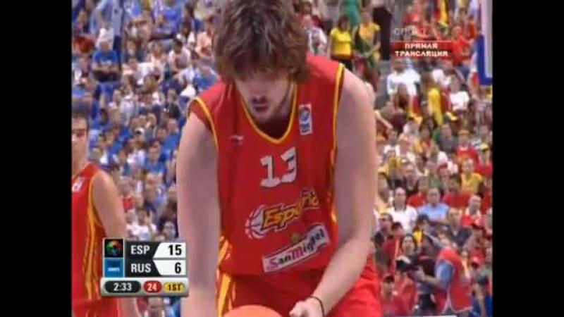 Золотой Спорт России Russian Gold Sport Баскетбол Евро 2007 Финал Испания Россия 16 09 2007