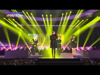  Выступление  2NE1 - MISSING YOU +DO YOU LOVE ME @KBS.