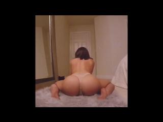Шикарная попка у телочки, бамперсекс тверк вот это жопа большая задница трап голая на вебку трясет булками не порно в горячо [72