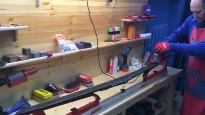 Подготовка лыж в СпортЭк к марафону Европа Азия
