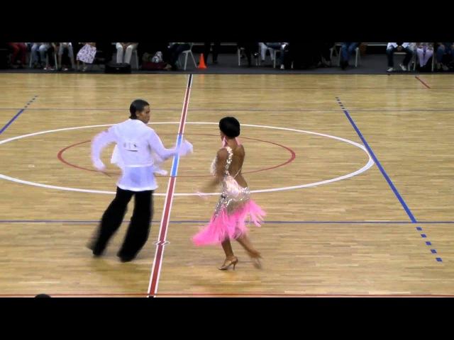 Nino Langella - Kristina Moshenskaya | Cha Cha Cha | PortDance Open 2011