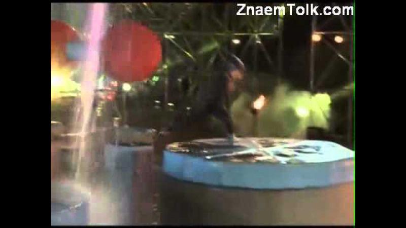 ✔Водное шоу 21 фев эпиз 15 часть 5 Zor Ka Jhatka Total Wipeout 2011 г