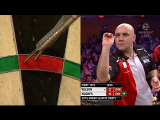 James Wilson vs Jamie Hughes (Grand Slam of Darts 2016 / Group G)