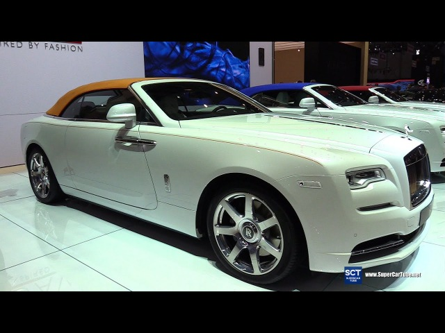 2018 Rolls Royce Dawn Inspired by Fashion - Exterior Interior Walkaround - 2017 Geneva Motor Show