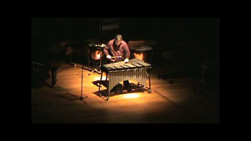 Leo Ouderits plays Prelude No 7 for vibraphone solo by Louis Cauberghs