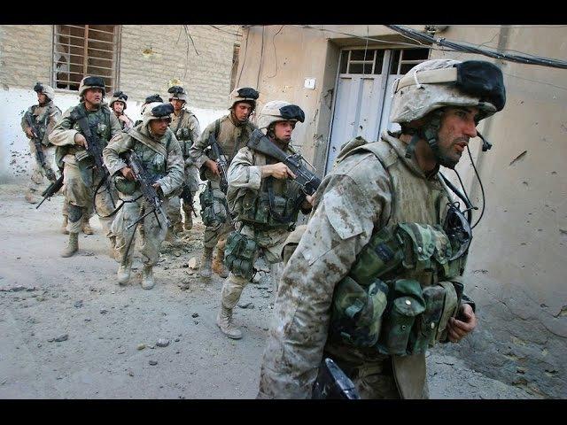Уличные бои в Ираке корпус морпехов США