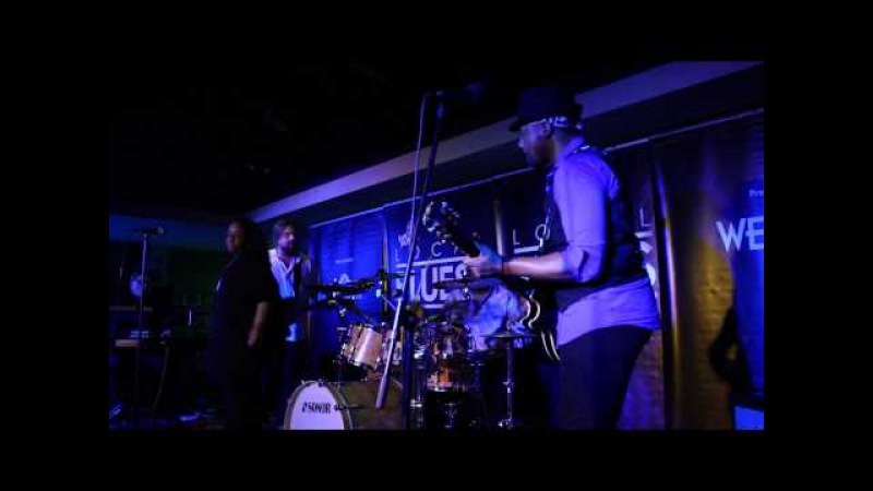 Chris Canas Band Crank Dat Blues and Drive Live at Guy Hollerin's