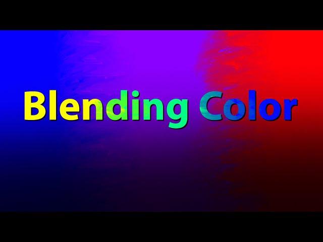 Color Blending with Corel Painter