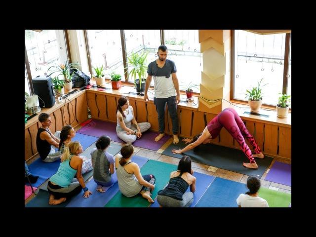 Богдан Кожухарик Yogalife Fest 2017 Здоровый Позвоночник