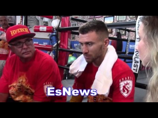 Vasyl Lomachenko Why He Likes Sparring More Than Anything In Gym EsNews Boxing