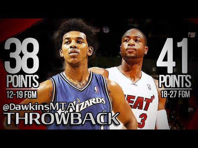 Nick Young vs Dwyane Wade NASTY Duel 2011.02.25 - SWAGGY P With 38, Wade With 41 Pts!