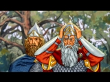 Православный мультфильм о Куликовской битве Пересвет и Ослябя (качество HD) (1)