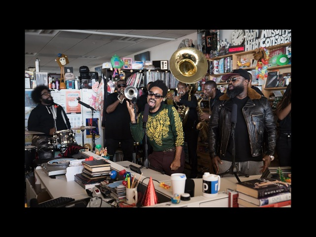 The Roots feat. Bilal NPR Music Tiny Desk Concert