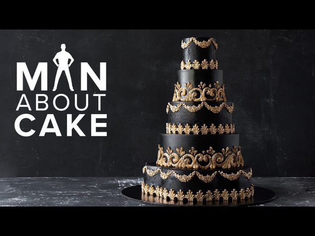CakeSlayer Halloween GOTHIC WEDDING CAKE | Man About Cake with Joshua John Russell