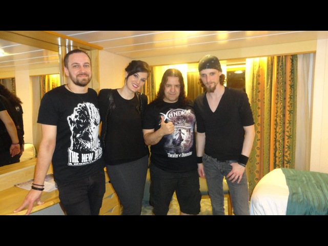 Honey Badger's Interview with Xandria at 70 000 Tons of Metal
