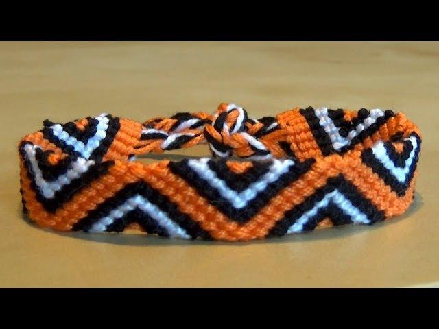 [TUTO] Bracelet Brésilien Triangles (Intermédiaire)