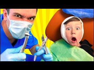 Bad Baby Злой ДОКТОР Лечит Зубы Freaky DOCTOR Family Fun Pretend Play