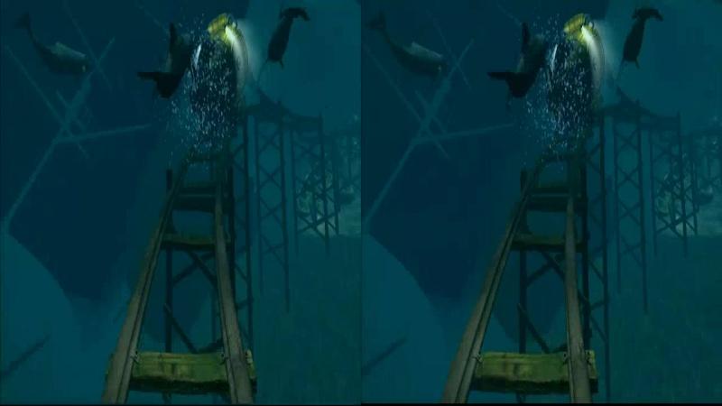 5D Аттракцион. Подводное приключение 3D VR SBS