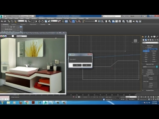 Tutorial on Modeling and texturing a 3d Bathroom in 3dsmax using Vray ( Part 1)