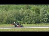 New World Record Jet Engine Kart , Turbojet Kart HX Monster 116.819mph