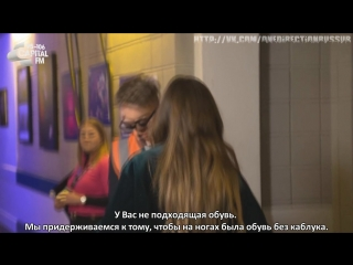 Niall Horan Got Stopped By 'Security' & It's Hilarious AF [RUS SUB]