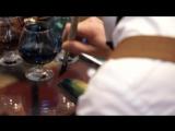 Видео с Shoesing Awards 2018. Покраска гладкой кожи с помощью проникающего красителя Teinture Francaise Saphir.