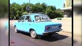 Driving the Streets of Krasnoyarsk Siberia RUSSIA USSR 1994