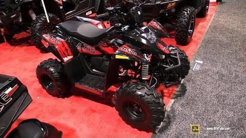 2018 HiSun Axis 110 Sport ATV Walkaround 2017 SEMA Las Vegas